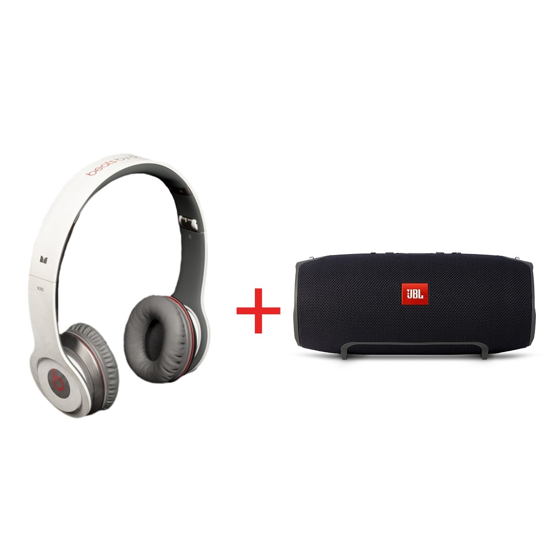 Shopsyour Jbl Xtreme Wireless Portable Bluetooth Speaker And Beats Headphone Beat Drdre Beatsby Dr Dre Blutooth S450 Solo Headphones Combo Offer Multimedia Speakers