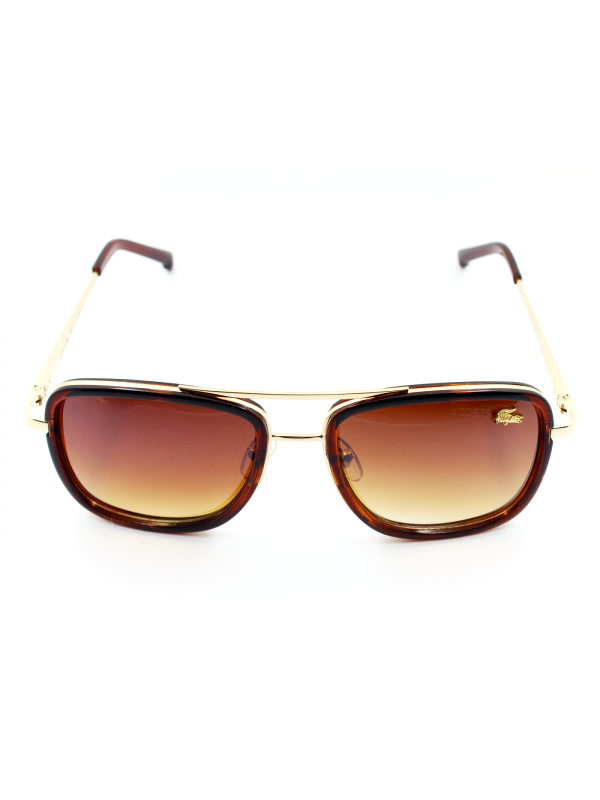 Lacoste Brown Faded Sunglasses