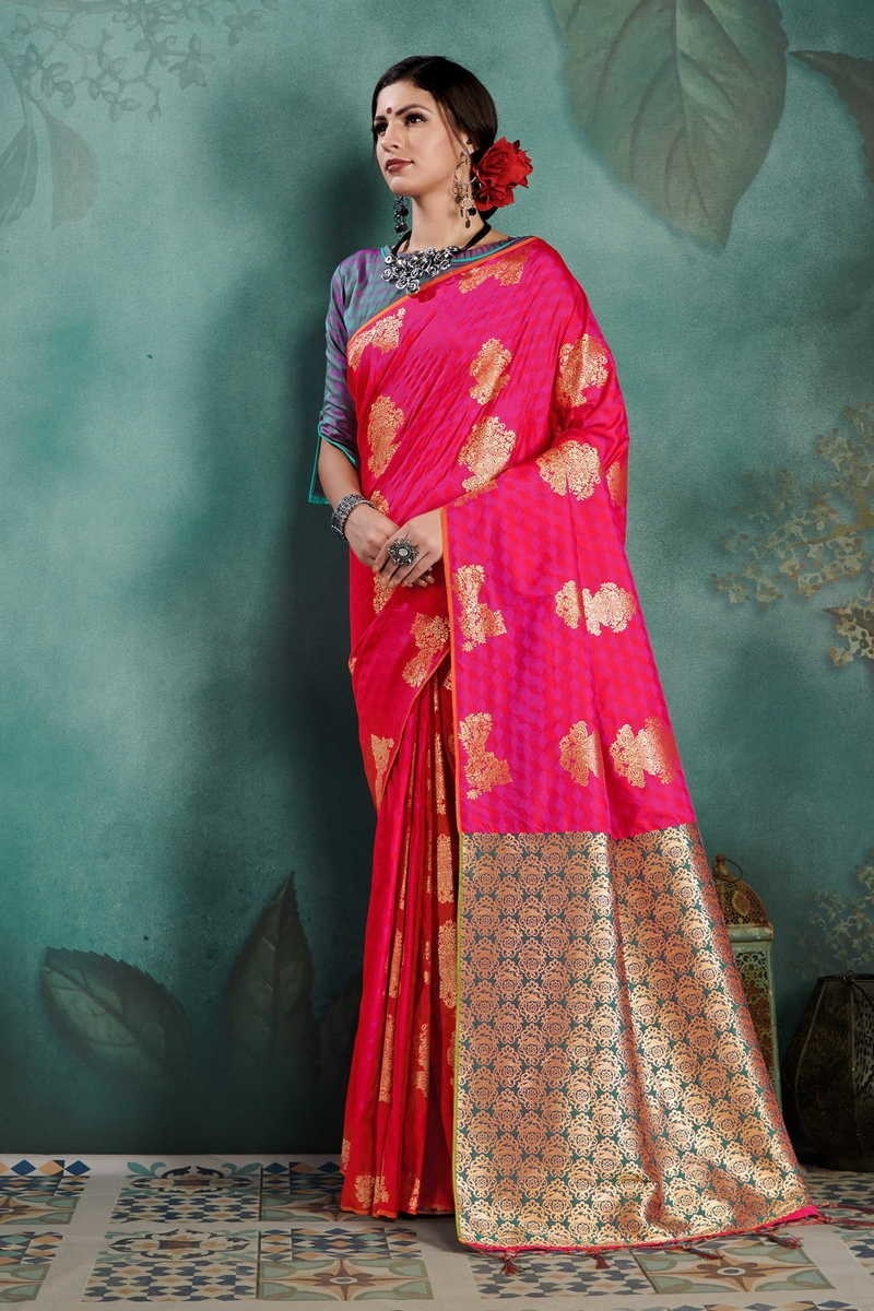 Kanjeevaram Art Silk Saree With Blouse
