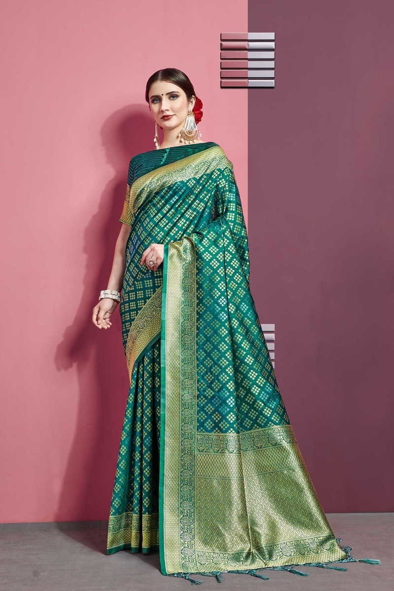 Banarasi Art Silk Saree With Blouse