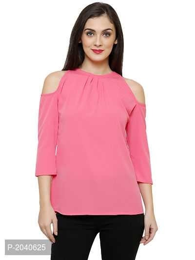 Cold Shoulder Women's Top