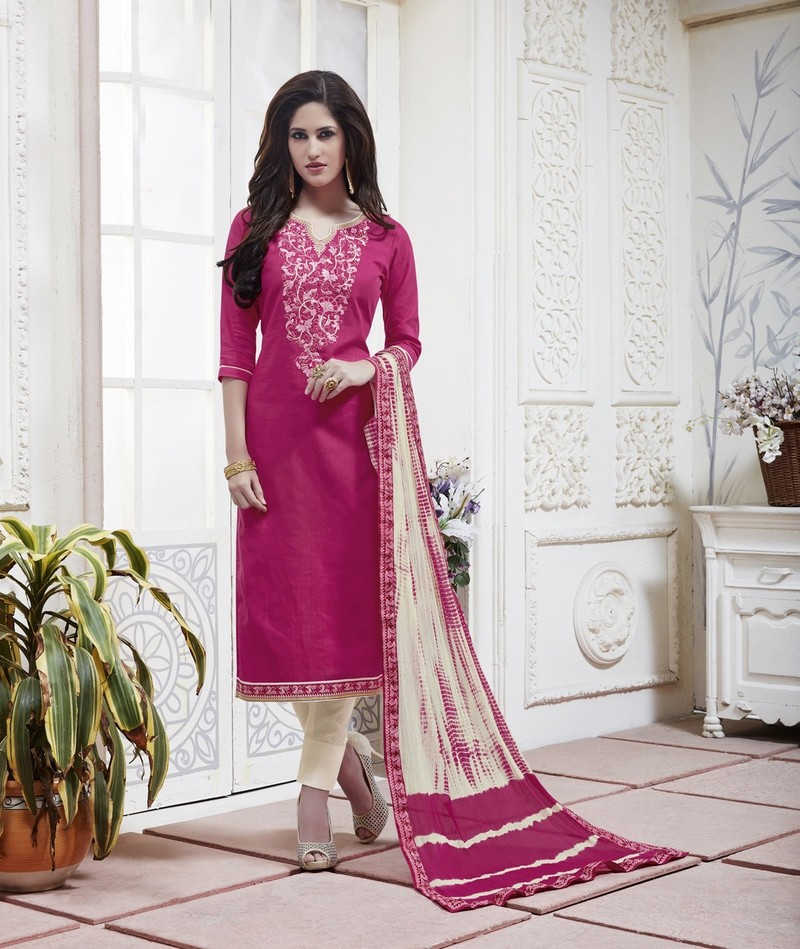 Panna - Cotton Embroidery Unstitched Suit Set