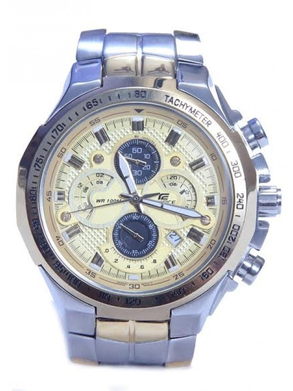 CASIO EDIFICE WATCH EFR-554 WATCH Silver