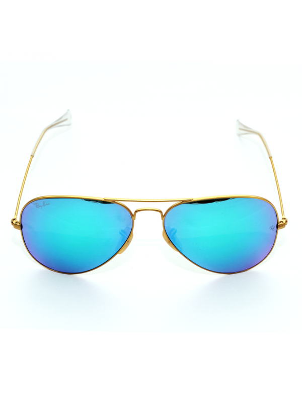 RAY-BAN BLUE MERCURY AVIATOR SUNGLASSES UNISEX