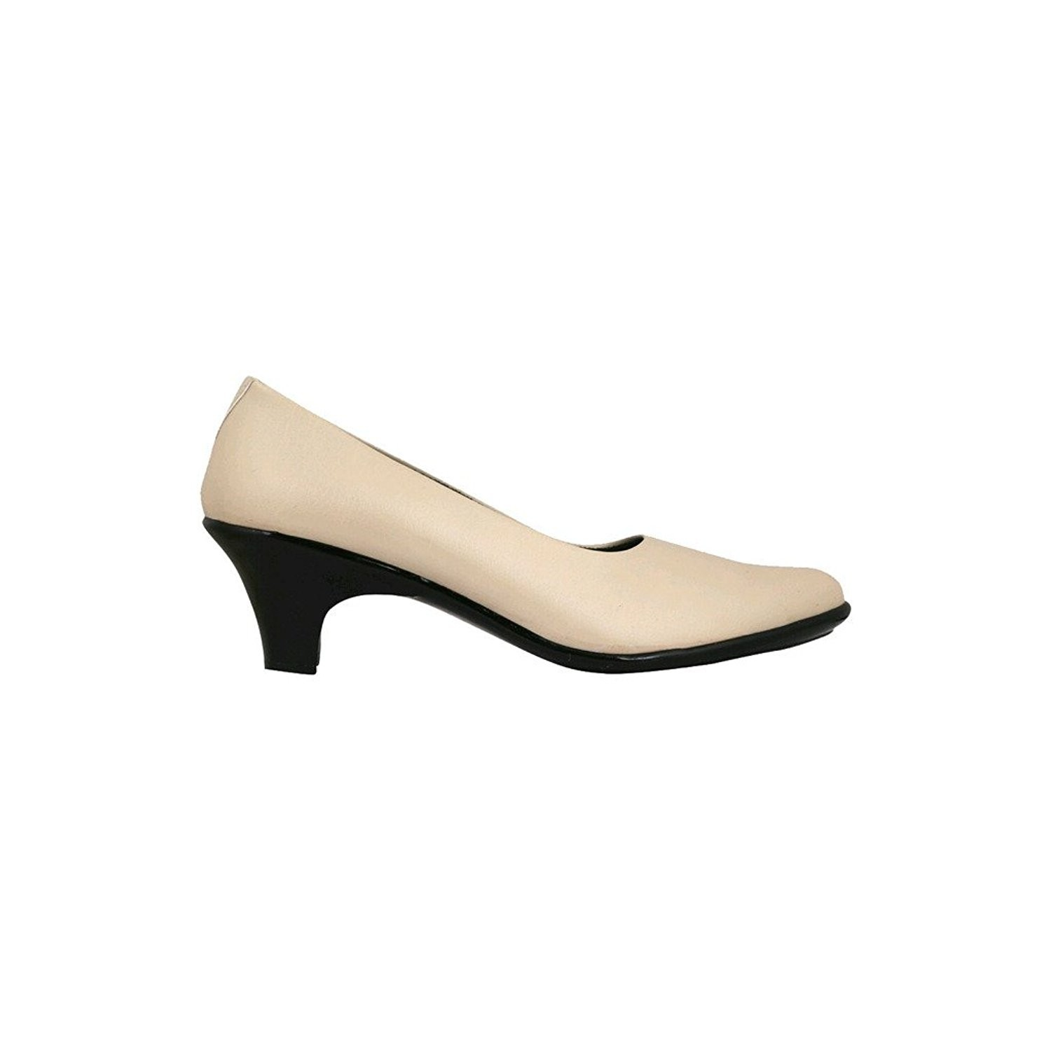 Classy Feet Beige Formal Shoes For Women