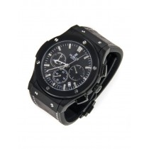 Hublot Big Bang Ceramic Black Magic Dial Grey Carbonfiber Watch