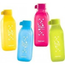 Tupperware SIP and shine Water Bottles In Multicolor In Set Of 4