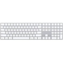 Wireless Multi-device Keyboard Designed For Apple In White Color