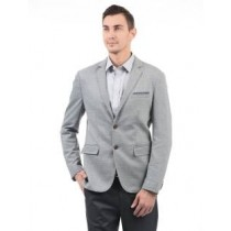 Arrow Solid Formal Men Blazer in Grey Color