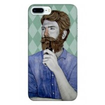 BEARD APPLE I PHONE COVER