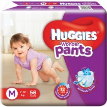 Huggies Wonder Pants Baby Diapers - M