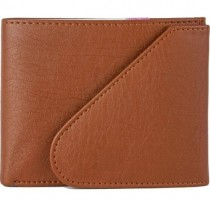 Lusso Pelle Women Tan Artificial Leather Wallet With 6 Card Slots