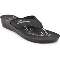 Action Black Slippers For Women