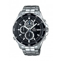 CASIO EDIFICE EFR 547 Silver Black Watch