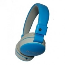 MS-881F 108dB Bluetooth Light Blue Headphones