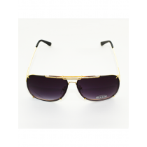D&G Black Faded Gold Frame Sunglases