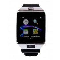 Zakk Unisex Black Sim Card Slot Smart Watch For Women