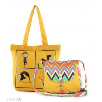 Canvas Printed Sling Bags