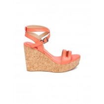 Marc Loire Pink Solid Wedges For Women