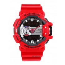 CASIO G-SHOCK WOMEN Red Analogue-Digital Smart Watch G559
