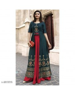 Women Stylish Rayon Gown